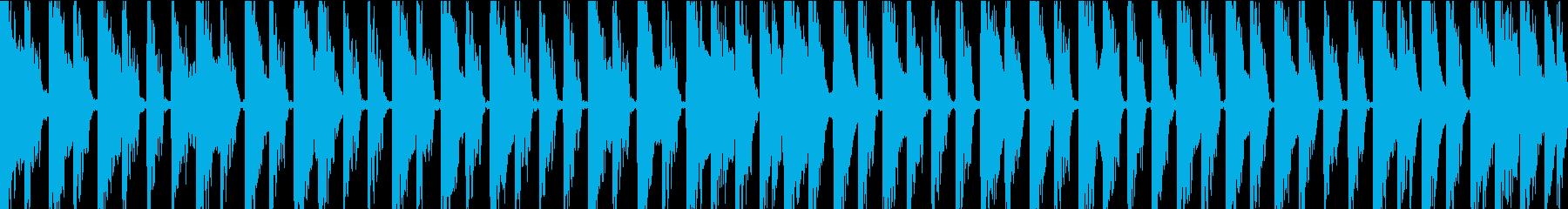 爽快感のあるポジティブロックの再生済みの波形