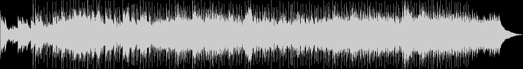 ピアノのメロディー、流れるようなオ...の未再生の波形