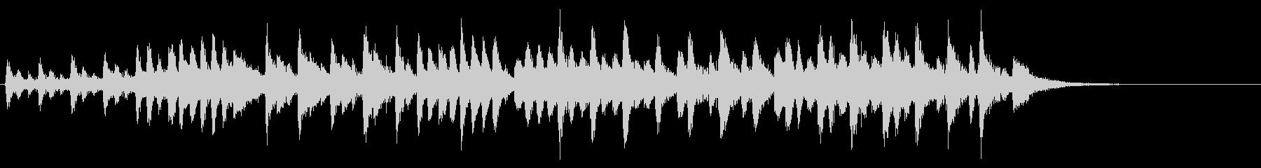 タランテラ(メンデルスゾーン)の未再生の波形