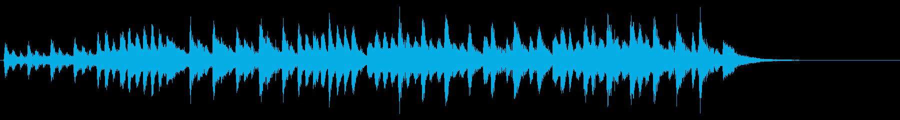 タランテラ(メンデルスゾーン)の再生済みの波形