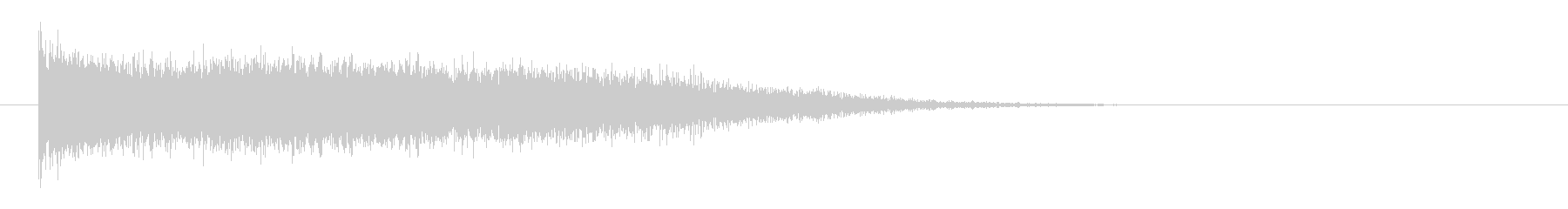 レーザー音-59-3の未再生の波形
