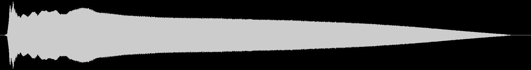 レゲエホーン (強く、長め)の未再生の波形