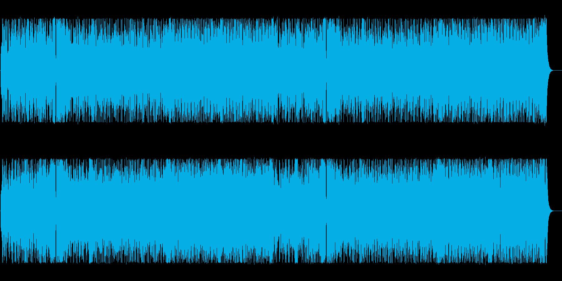 のびやかな明るいポップなBGMの再生済みの波形