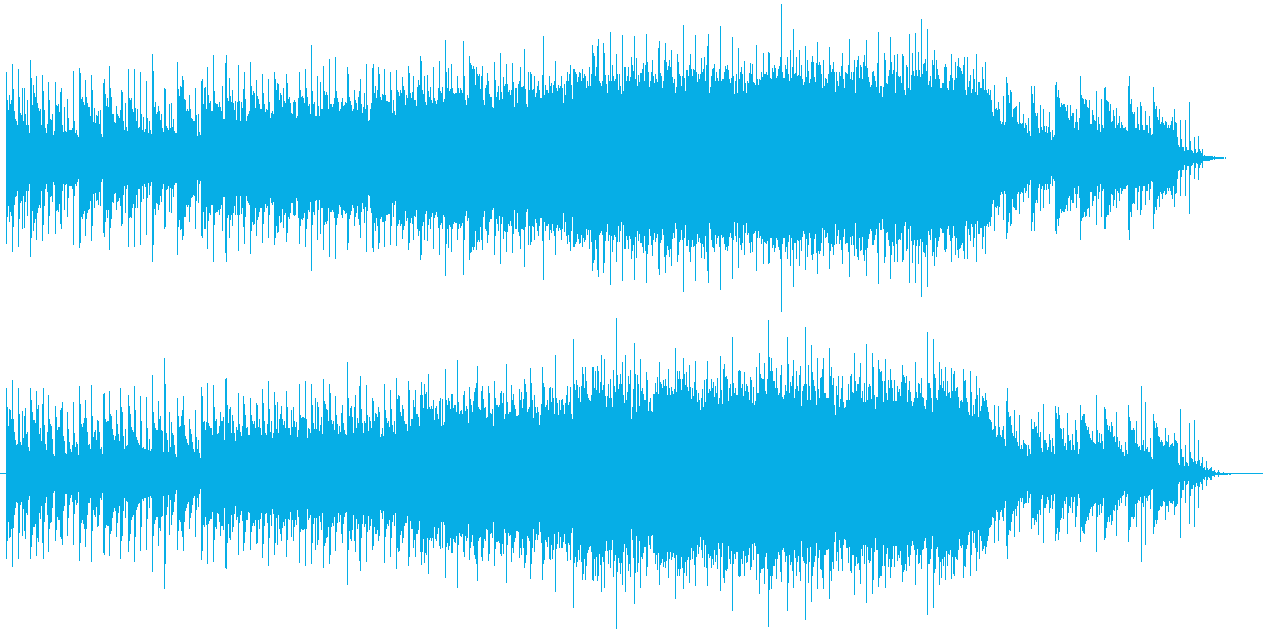 【生演奏】感動的なバイオリンバラードOPの再生済みの波形