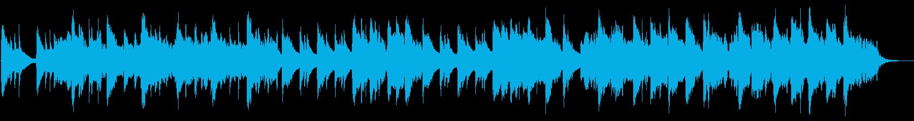 和風な雰囲気の日本民謡っぽいインスト曲の再生済みの波形