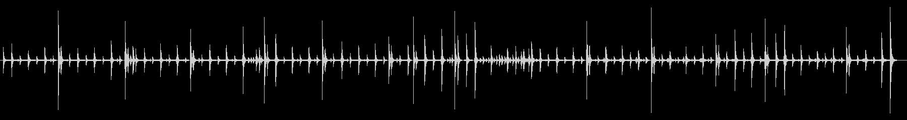 JAZZ RHYTHM、BRUSH...の未再生の波形