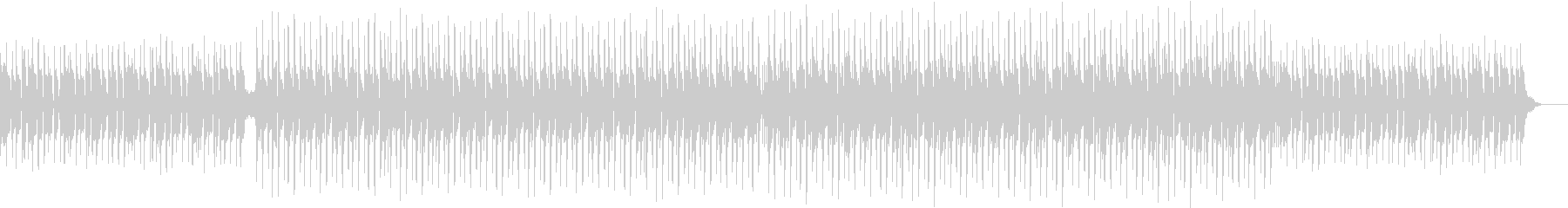 TikTokの某曲っぽいトロピカルハウスの未再生の波形