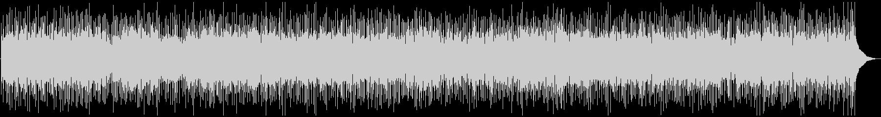 昔懐かしいような優しいフォーク調BGMの未再生の波形