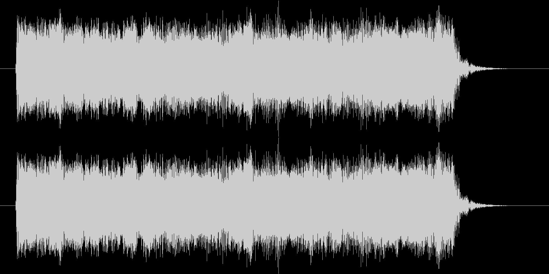 ギターフレーズ019の未再生の波形