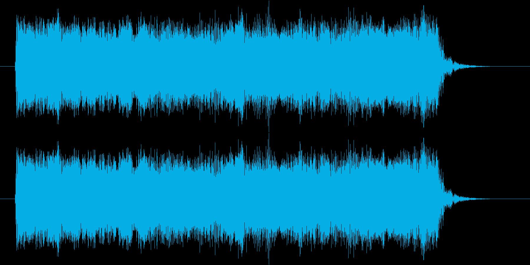 ギターフレーズ019の再生済みの波形