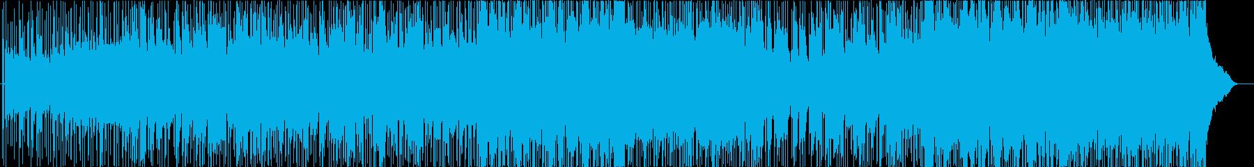 ディレイの再生済みの波形
