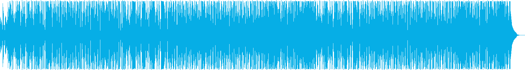 素晴らしいキーボードソロを備えたフ...の再生済みの波形
