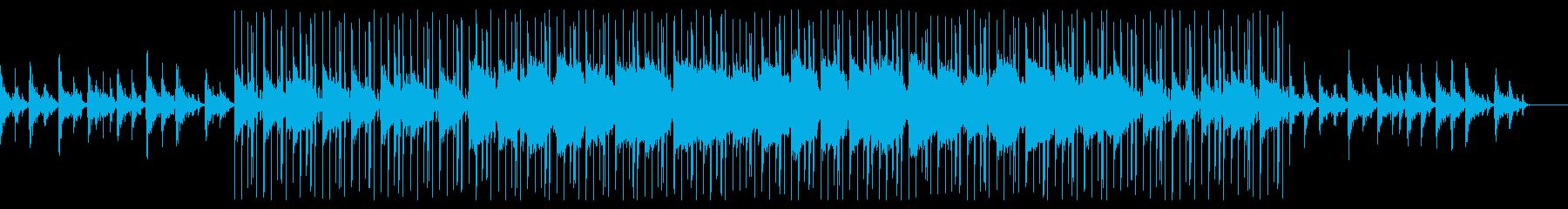 HipHop&Jazz風 エンディング曲の再生済みの波形