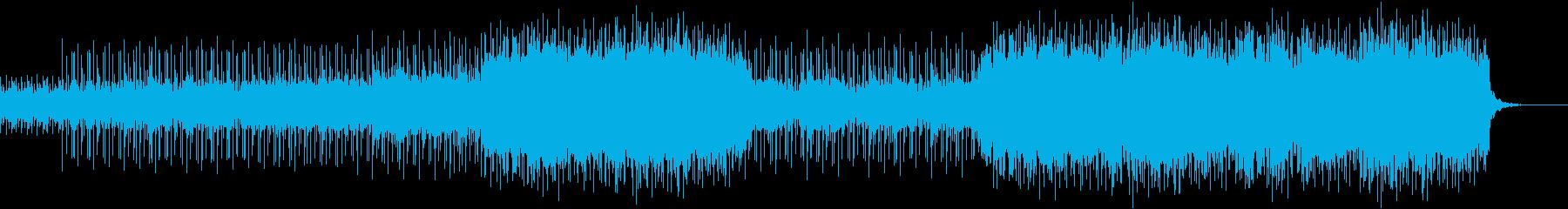 車のCMや企業PVに☆クールで都会的な曲の再生済みの波形
