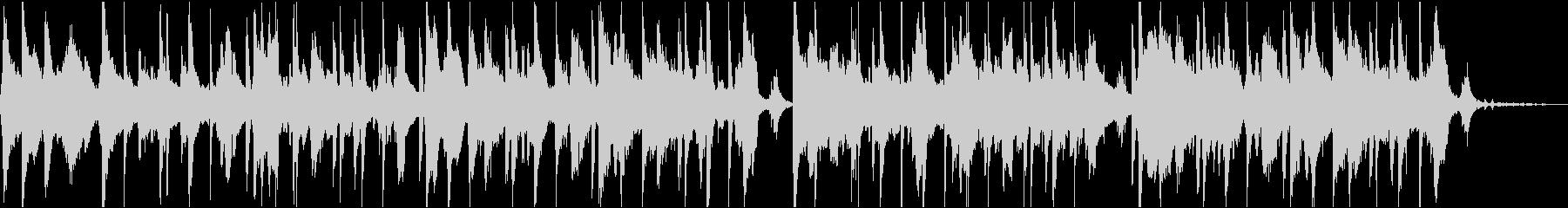 落ち着いたピアノメインのチルアウトの未再生の波形