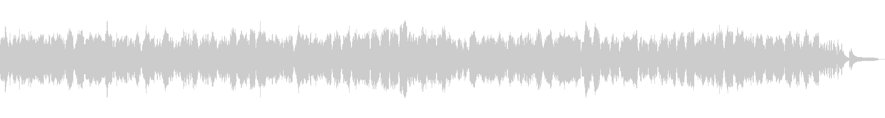 ヒーリングクラシック「春の歌」106-2の未再生の波形