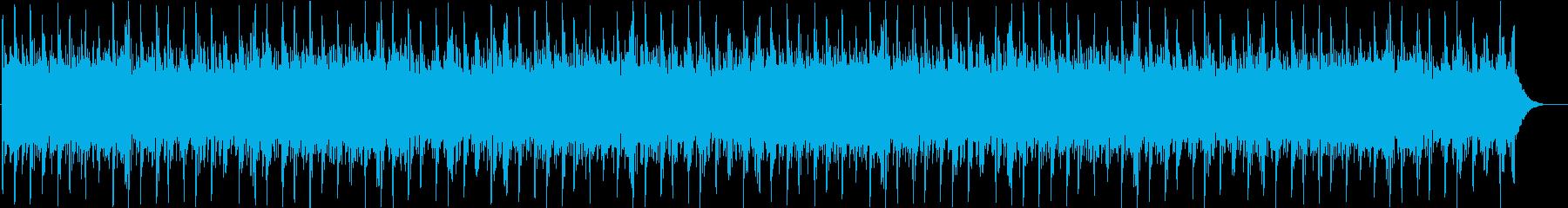不思議な空間の曲 暗い版の再生済みの波形