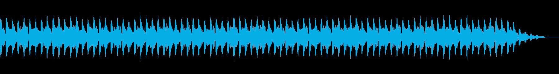 疾走感80sディスコ系ポップスの再生済みの波形