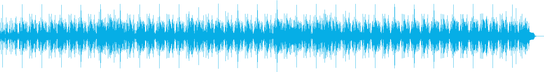 クールでダークなスピード感あるファンクの再生済みの波形