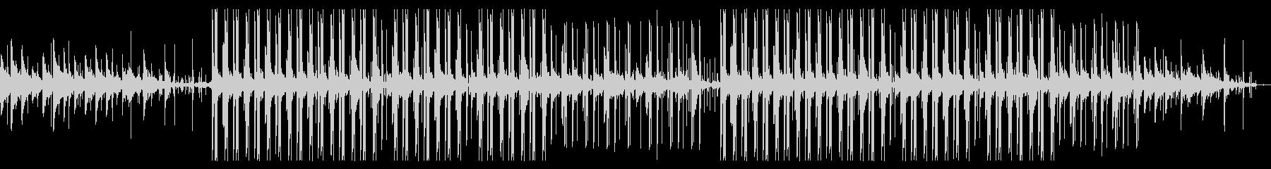 悲しいエレピとピアノのチル・ヒップホップの未再生の波形