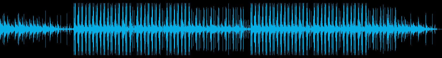 悲しいエレピとピアノのチル・ヒップホップの再生済みの波形