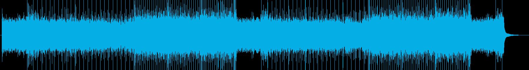 「Rock系」「sad系」BGM57の再生済みの波形