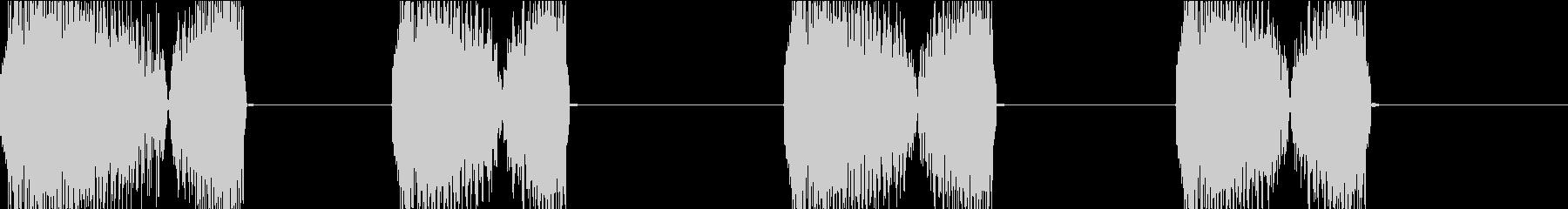 DJプレイ スクラッチ・ノイズ 113の未再生の波形