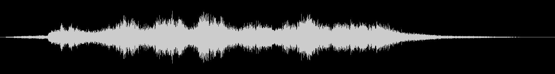 優雅な和風サウンド琴のマルチフレーズ5の未再生の波形