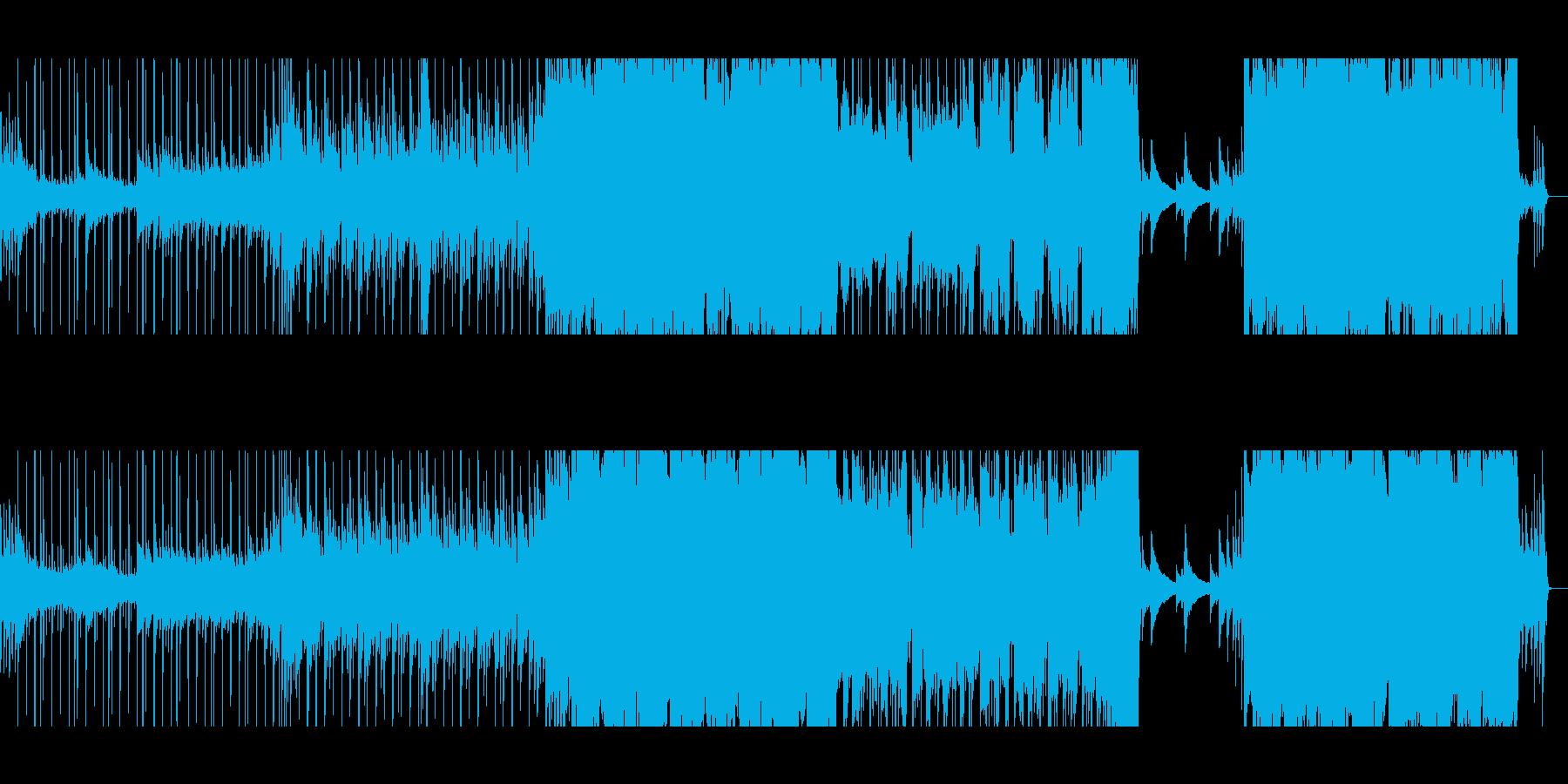 「切ないクリスマスソング」の再生済みの波形