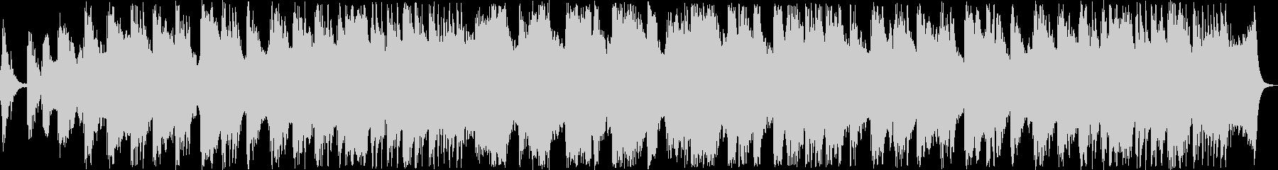 美しいピアノサウンドの未再生の波形