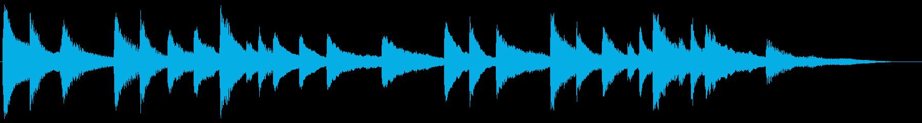 子守唄風 スローで優しいピアノ・ジングルの再生済みの波形