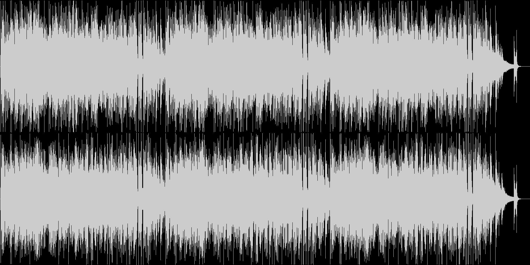 大人の時間を彩るスウィングジャズの未再生の波形