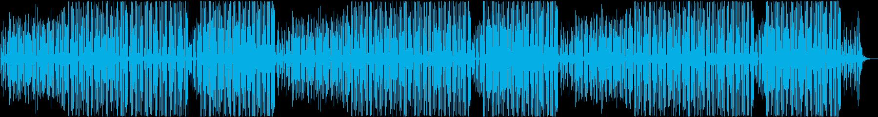 ほのぼのとした雰囲気のマーチの再生済みの波形