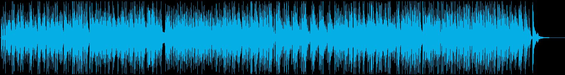 カフェゆったりジャズカルテット♪の再生済みの波形