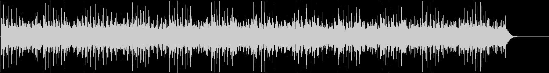 不気味なオルゴール・ベル・ホラーBGMの未再生の波形