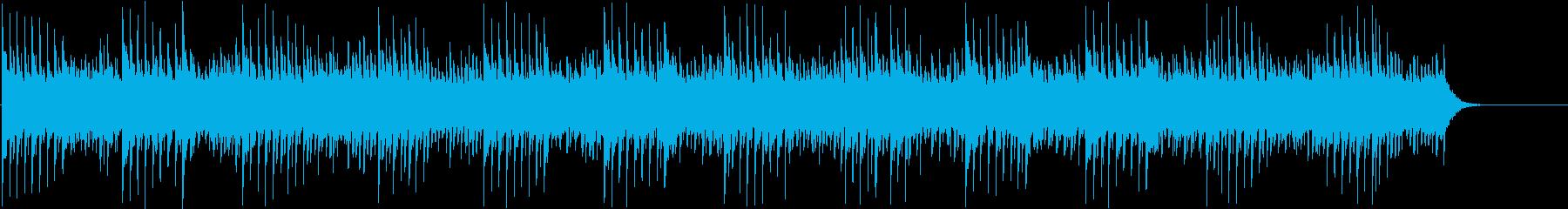 不気味なオルゴール・ベル・ホラーBGMの再生済みの波形