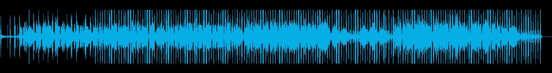 ほのぼのした雰囲気のジャジーヒップホップの再生済みの波形