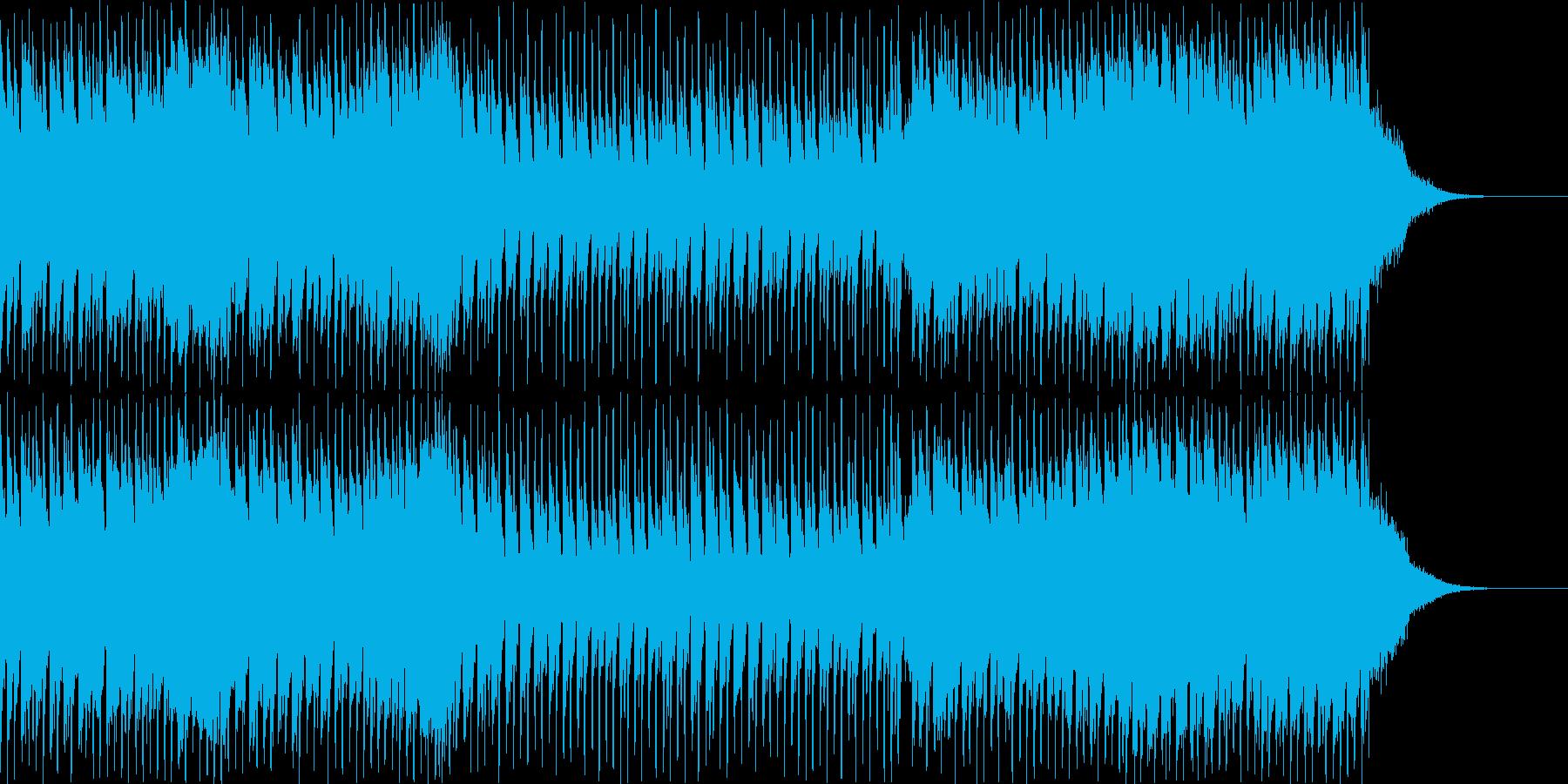 CM50秒サイズ avex系ダンス曲の再生済みの波形