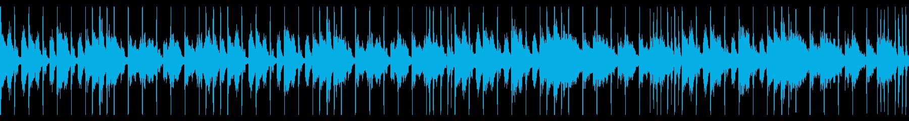エレクトロ行進曲の再生済みの波形