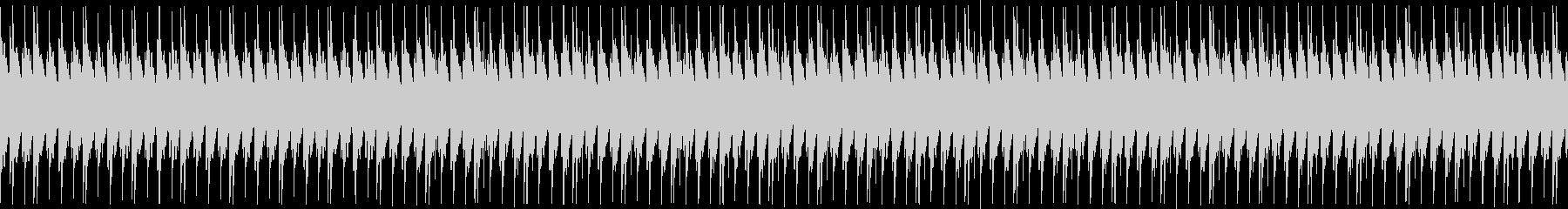 あえて音質に粗さを出したローファイテクノの未再生の波形