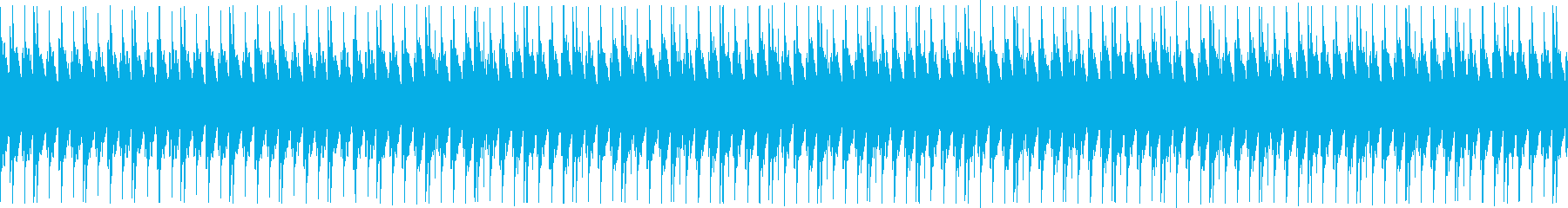 あえて音質に粗さを出したローファイテクノの再生済みの波形