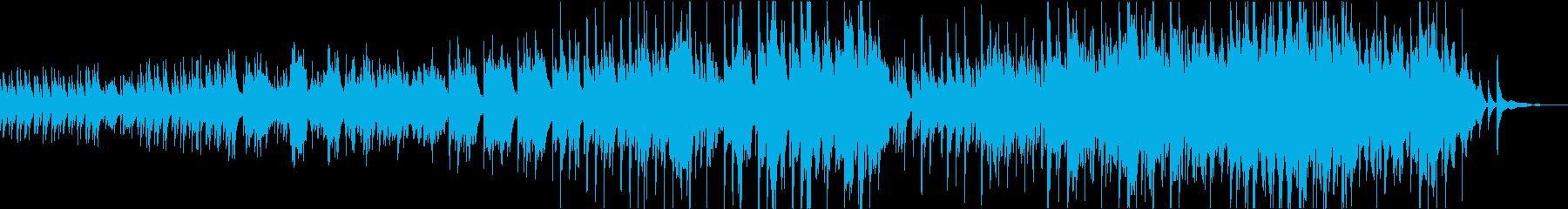 優しくほのぼのしたハープの子守唄の再生済みの波形