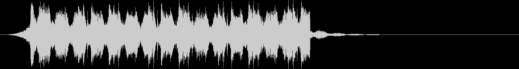 OPEDクールで穏やかな透明感ジングルcの未再生の波形