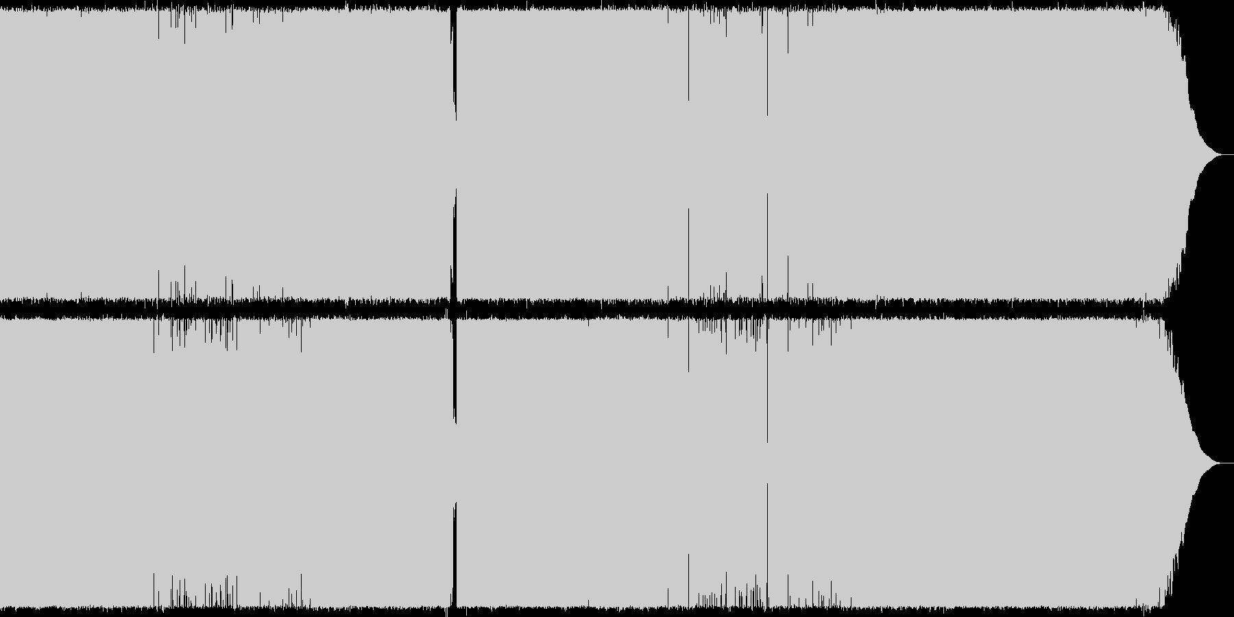ハードロックな明るいPOP shortの未再生の波形