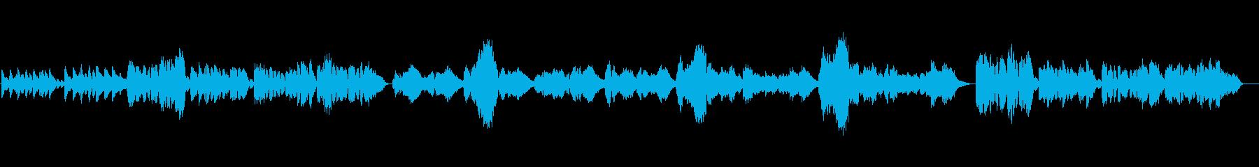 横浜市歌。女声とピアノ伴奏。の再生済みの波形