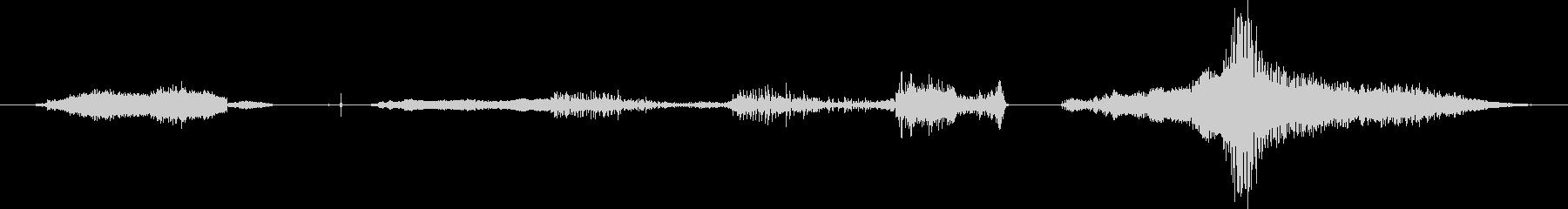 鳴き声 男性ストレッチ01の未再生の波形