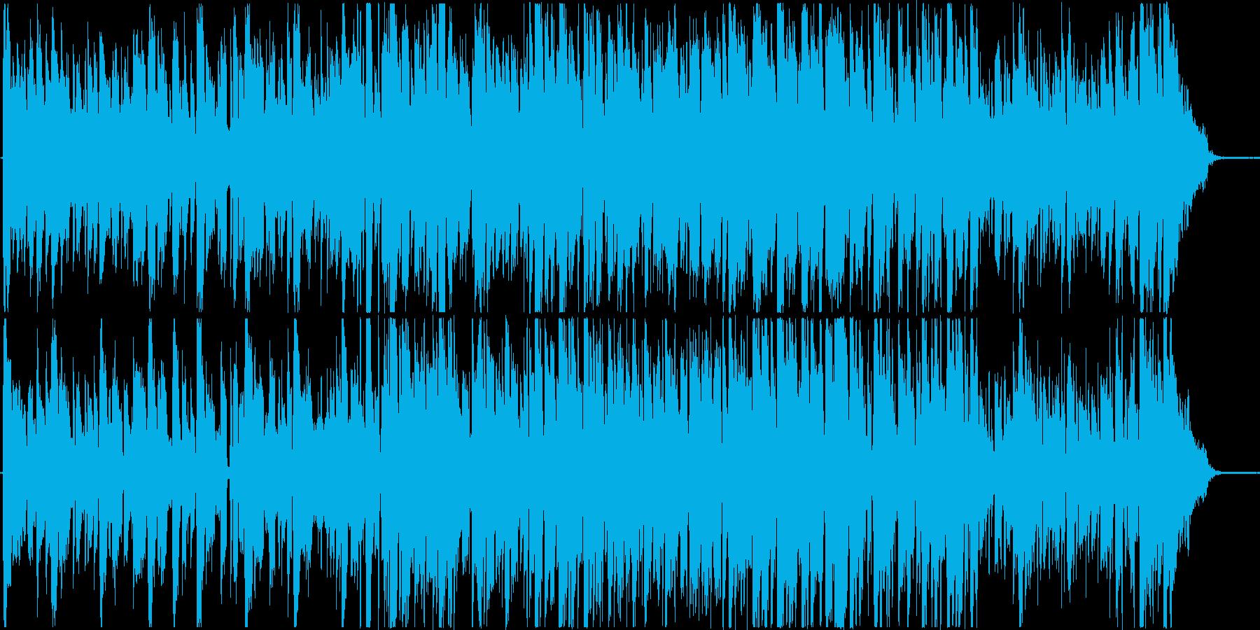 ピッコロのソロが印象的なジャズBGMの再生済みの波形