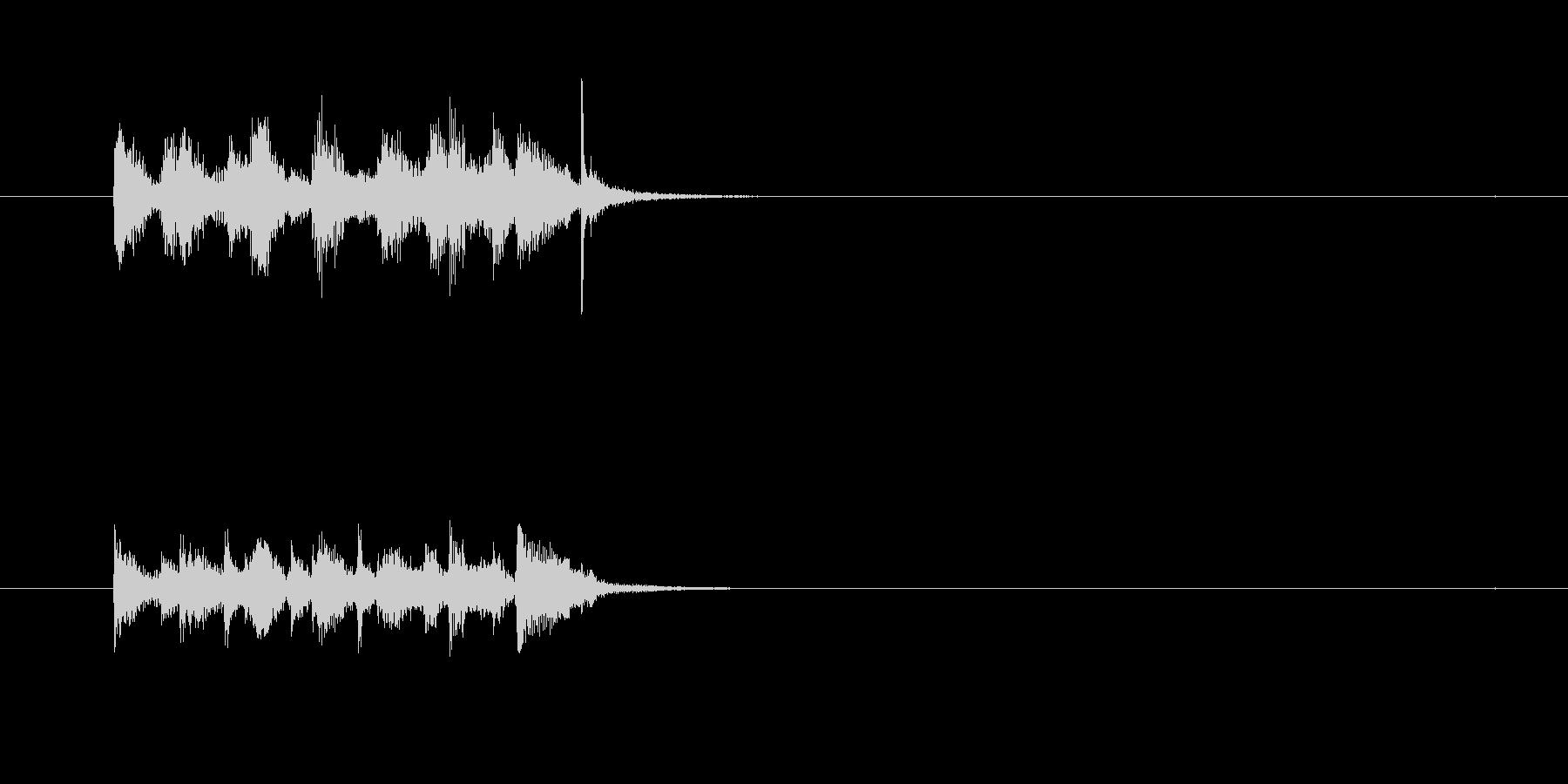 コミカル ギャグ シンセサイザー ボケの未再生の波形