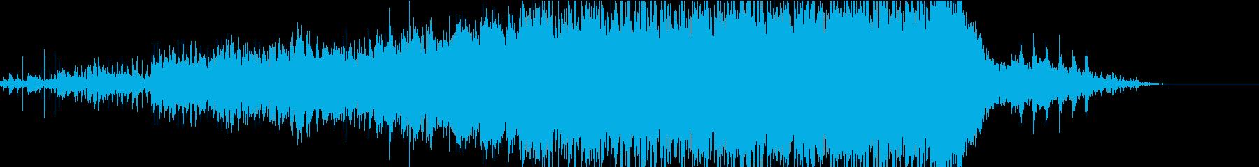 反復の再生済みの波形