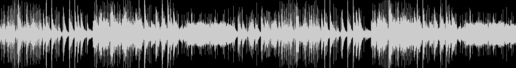 琴と和楽器による 切ない和風ループの未再生の波形